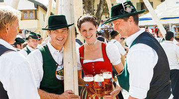 Oktoberfest traditional dress from hats, to dirndls and Lederhosen, don't be left out of the popular fashion trend